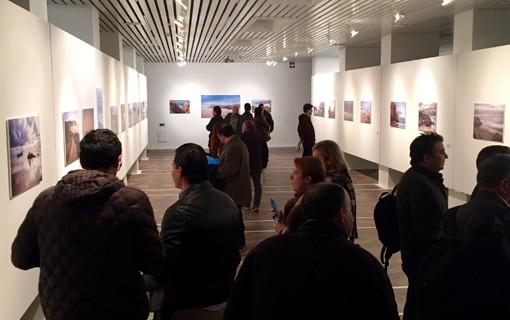 Alumnos de Imagen del IES Pablo Neruda trasladan la luz del Algarve a la Sala de la Provincia