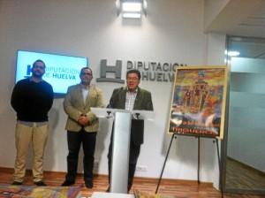Presentación de las Fiestas de San Antonio Abad en la Diputación de Huelva.