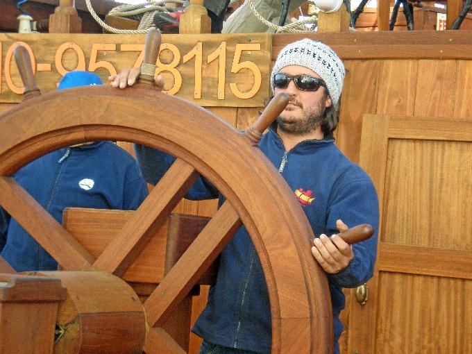 nao victoria Navegando hacia Malta-gale+¦n