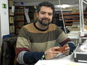 El investigador Salvador Delgado Aguilar'.