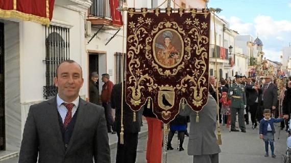 David Vivas, alcalde de Lucena del Puerto, invita a toda la provincia de Huelva a vivir las Fiestas de San Vicente Mártir