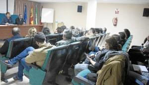 Asamblea general de la Plataforma en Defensa de los Regadíos del Condado.