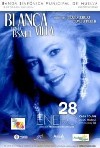 Concierto de Blanca Villa.
