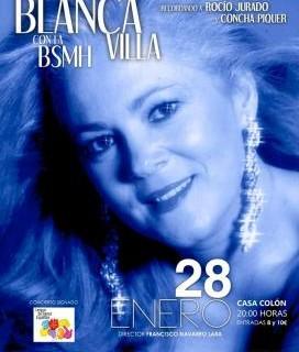 Blanca Villa homenajea a Concha Piquer y Rocío Jurado junto a la Banda Sinfónica Municipal