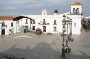 Plaza Redonda de Cartaya.
