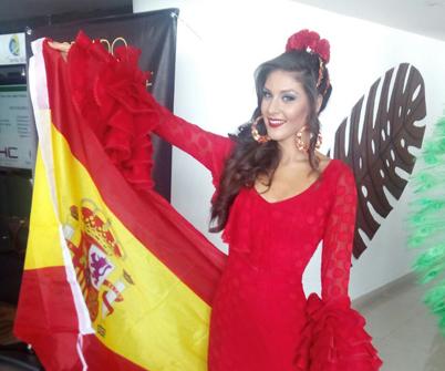 La onubense María José García queda segunda en el certamen internacional de belleza colombiano Miss Reinado del Café