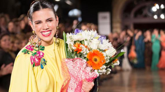 La onubense Soledad Bayón se lleva el Premio a la Mejor Modelo We Love Flamenco 2016