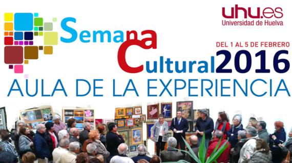 Teatro, literatura, pintura, fotografía y gastronomía en la Semana Cultural del Aula de la Experiencia