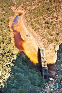 Vista del río Tinto.
