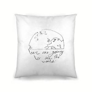 Una muestra de su trabajo para Ripshop, proyecto que lleva el arte del papel al textil del hogar.