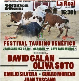 Festival taurino solidario en Zalamea la Real
