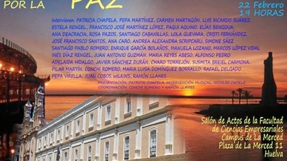 'Poetas por la Paz' convoca un nuevo encuentro en la Onubense