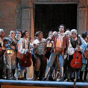 La obra se ha llevado a escena en Sevilla cuando se cumplen los doscientos años de su estreno en Roma.