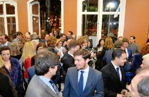 La gala se celebró en el Salón de Chimeneas de la Casa Colón de Huelva.