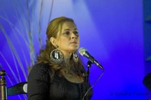 La cantaora Manuela Cordero.