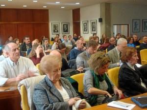 Numerosas personas acudieron a Madrid a arropar a Feli en la defensa de su tesis.
