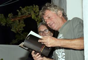 El poeta Eladio Orta.