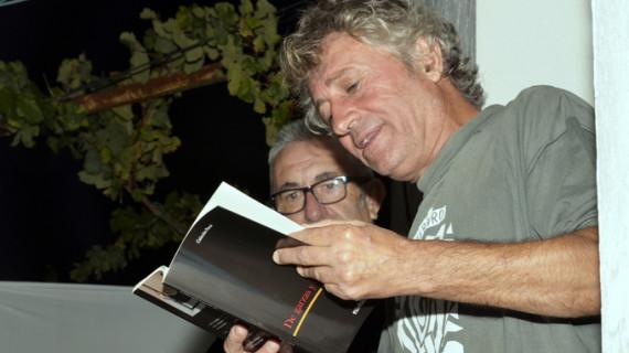 Eladio Orta y María Luisa Domínguez presentan sus poemas en Ayamonte