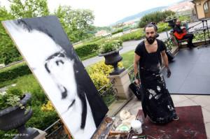 El artista vive desde hace años en Berlín.