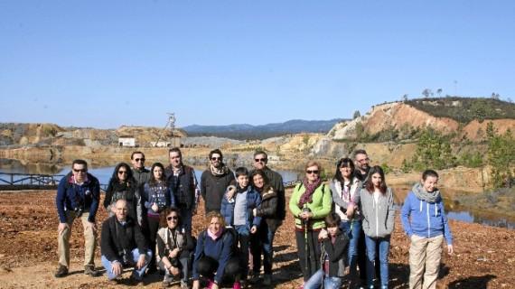 Conociendo las minas de Huelva a través del senderismo