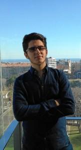 Javier Rodríguez Macías, emprendedor onubense, y estudiante de Nanotecnología en la UAB.