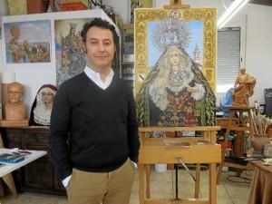 José Luis Delgado Blanco, artista beasino.