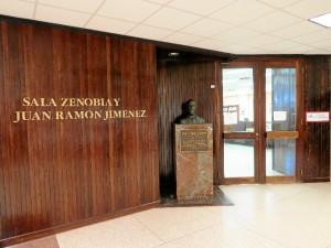 Sala dedicada a Zenobia y Juan Ramón en la Universidad de Puerto Rico. / Foto: Rubén Moreno.