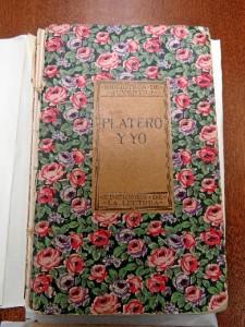 Primera edición de Platero y yo. / Foto: Rubén Moreno.