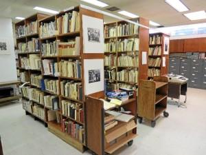 Una imagen de la biblioteca. / Foto: Rubén Moreno.