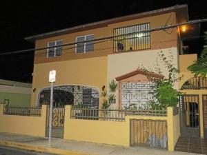 Casa de Juan Ramón y Zenobia en Puerto Rico. / Foto: Rubén Moreno.
