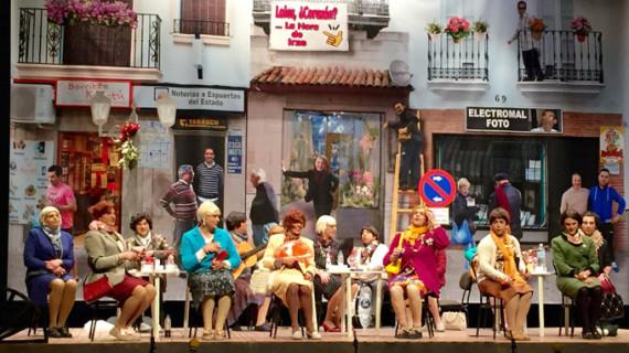 Valverde del Camino vive una gran final del certamen de agrupaciones carnavaleras