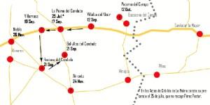 Mapa cervantes gozálvez