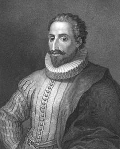 Cervantes se hizo muy famoso con Don Quijote y Sancho.