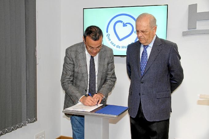 Diputación y Resurgir renuevan su convenio de colaboración.