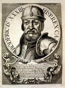 Don Rodrigo, último rey visigodo de Hispania./ Foto: commons.wikimedia.org.