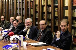 En la presentación en la RAE de la edición crítica del Quijote de Avellaneda.