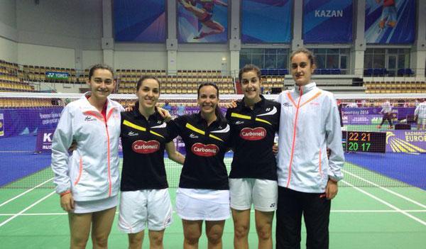 La selección española femenina sigue en su pelea por las medallas.
