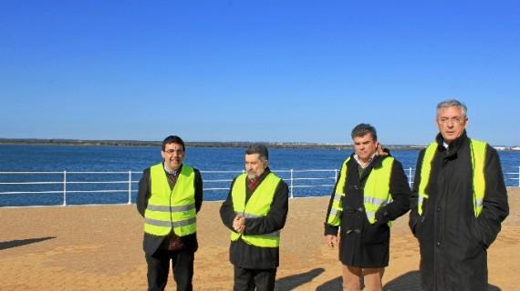 El Puerto de Huelva inicia las obras de la segunda parte del Paseo de la Ría