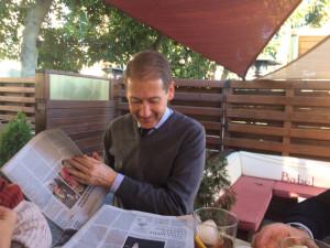Gómez Canseco es profesor de la UHU desde 1990.