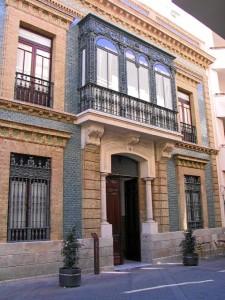 Antigua sede del Colegio de Aparejadores, en la calle Vázquez López. / Foto: www.coaath.es