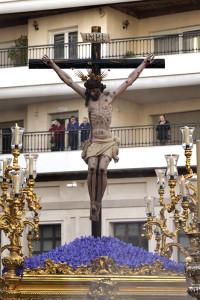 El cristo de Jerusalén y Buen Viaje es el crucificado más antiguo de nuestra Semana Santa