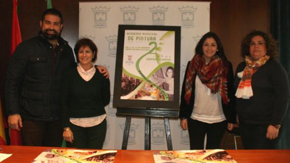 Cartaya celebra el 25 aniversario de la Academia de Pintura con una original exposición