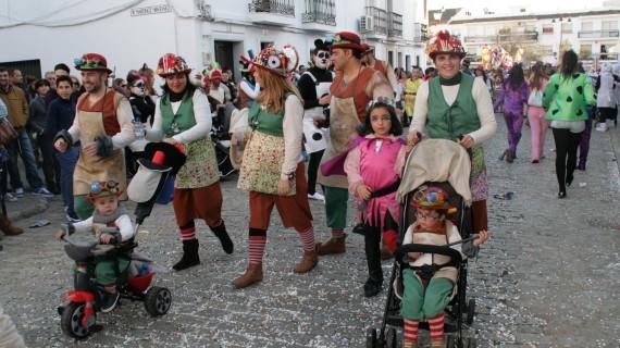 Los cartayeros se echan a la calle el 13 de febrero para celebrar el Carnaval
