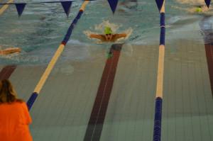 El nadador David Sánchez.