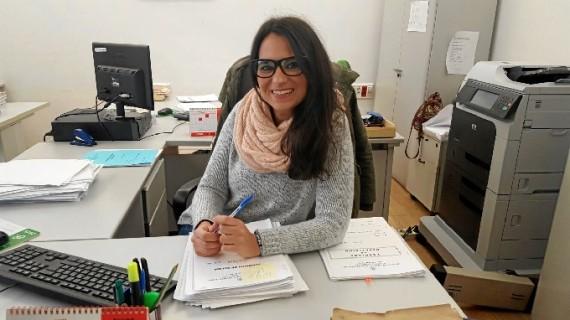 La sonrisa de Gema de la Riva, cuando trabajar en un servicio público es la mejor recompensa