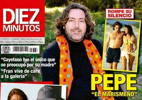 Pepe el Marismeño dona su portada de 'Diez Minutos'