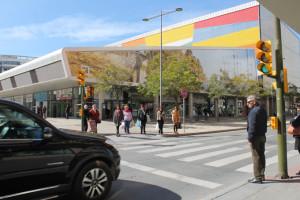 El nuevo Mercado del Carmen sustituyó el antiguo edificio del siglo XIX.
