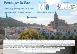 Cartel del Encuentro que se celebrará el próximo viernes 19 de febrero.