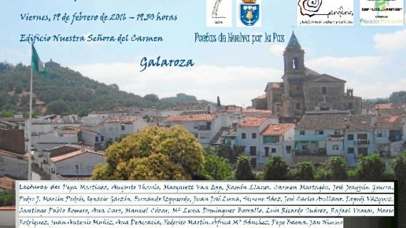 'Poetas por la Paz' ofrece un recital en Galaroza