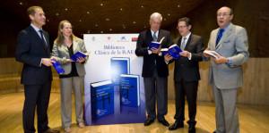 Los dos nuevos volúmenes sobre Cervantes son un encargo de la RAE.